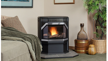 Winslow Pellet Stove by Ironstrike