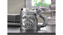 Stainless Steel Dragon Mug