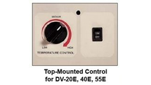 Top Mounted Control for DV20E, 40E, 55E