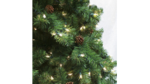 "4-7.5""H Slender 48""W Winchester Fir Prelit Tree Warm White LED 750"