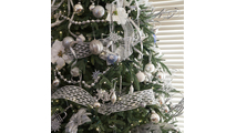 "8-6-6.5""H Full 54""W Noble Fir Prelit Tree Warm White LED 600"
