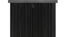 Matte Black Valance And Black Screen