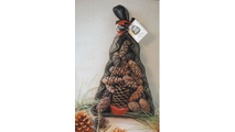 Goods of the Woods Color Cones in Green Christmas Tree Mesh