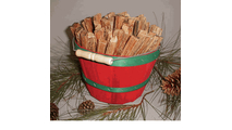 5 Pound Basket of Goods of the Woods Fatwood Fire Starters