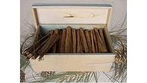 Goods Of The Woods Kindling Wood Storage Box with Rope Handles