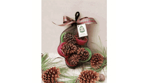 Six Goods of the Woods Pine Cone Fire Starters in a Mesh Bag
