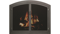 Grande Arched Mesh Door Cascade in Oil Rubbed Bronze