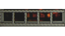 Denali decorative rail accent