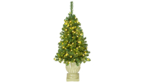 4 ft Olympia Prelit LED Potted Tree