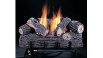 Reversible Front Log of the Original Chillbuster Single Burner Ventless Gas Log Set