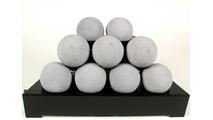 20 Inch ALTERNA FireBalls Set with Vent Free Black Burner