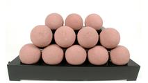 24 Inch ALTERNA FireBalls Set with Vent Free Black Burner