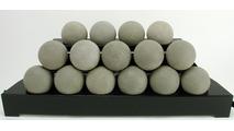 30 Inch ALTERNA FireBalls Set with Vent Free Black Burner