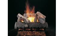 24 Inch Lone Star Vented Gas Log Set