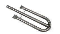 Stainless Steel U-Shaped Center Feed Burner For Brinkman and Charmglow Grills