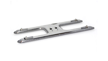 H Style Stainless Steel Burner For Arkla - PK - Bradley - Sears - Charmglow - Structo - Turco - Warm Morning Grills
