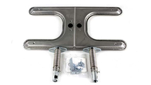 7-1/4 Inch x 15-1/2 Inch Standard Stainless Steel Burner With V-11 Ventrui 5-1/2 Inch to 8-1/2 Inch