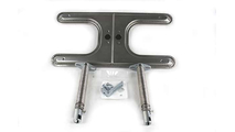 7-1/4 Inch x 15-1/2 Inch Standard Stainless Steel Burner With V-12 Ventrui 8 Inch to 11 Inch