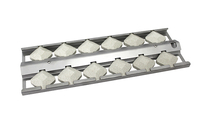 WLFTECT1 | STAINLESS STEEL BRIQUETTE TRAY & BRIQUETTES