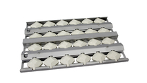 WLFTECT2 | STAINLESS STEEL BRIQUETTE TRAY & BRIQUETTES