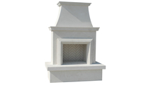 Ventfree Outdoor Gas Fireplace With Moulding