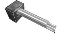 1.5 Inch Diameter Stainless Steel Cannon Scupper