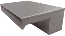 12 Inch Wide Stainless Steel Smooth Flow Scupper