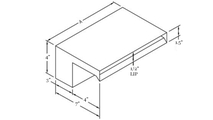 Smooth Flow Scupper Dimensions