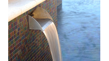 Smooth Flow Radius Scupper in Stainless Steel