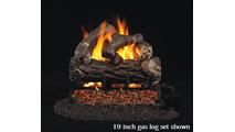 19 inch RealFyre Golden Oak Designer Plus Reduced Depth Vented Gas Log Set