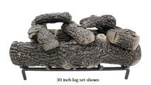 30 inch Classic Oak Gas Log Set