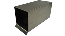 2 Inch x 2 Inch Box Stainless Steel Scupper