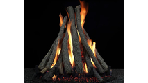 Hargrove Everest Mid Stack Vented Gas Log