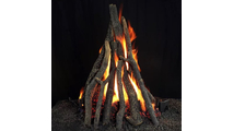 Hargrove Olympia Tall Stack Vented Gas Log