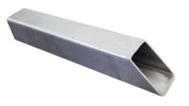 1 Inch Square Stainless Steel Tunnel Scupper