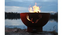Antlers Gas Burning Fire Pit 2