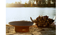 Asia Gas Burning Fire Pit 36 Inches