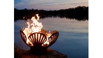 Barefoot Beach Gas Burning Fire Pit 42 Inch