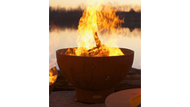 Funky Dog Gas Burning Fire Pit