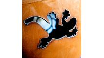 Kokopelli Fire Pit Gecko Design
