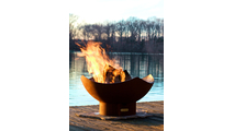 Manta Ray Gas Burning Fire Pit 36 Inches