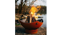 Namaste Gas Burning Fire Pit 36 Inches