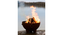 Nepal Fire Pit With Wood Burning