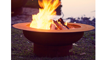 Saturn Gas Burning Fire Pit 40 Inches