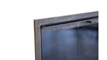Corner detail of Huntress Fireplace Door
