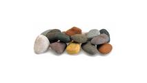 Beach Pebble Lite Stones Set Side View