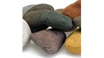 Beach Pebble Lite Stones Close Up
