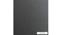 Satin Black powder coat finish