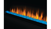 Blue Media & Flame Detail