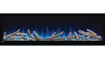 Log Set & Blue Flame Detail